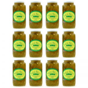 Fickle Pickles case of 32oz jars