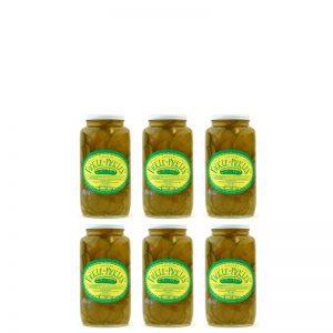Fickle Pickles half case of 32oz jars