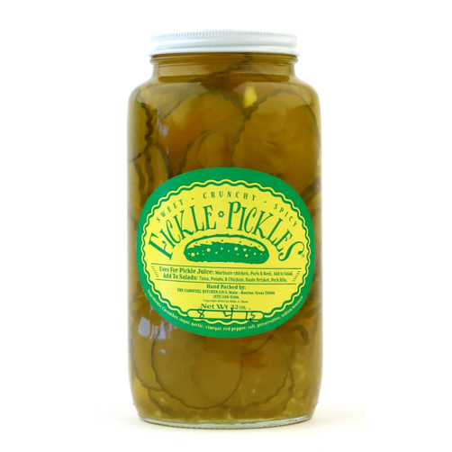 Fickle Pickles 32oz jar