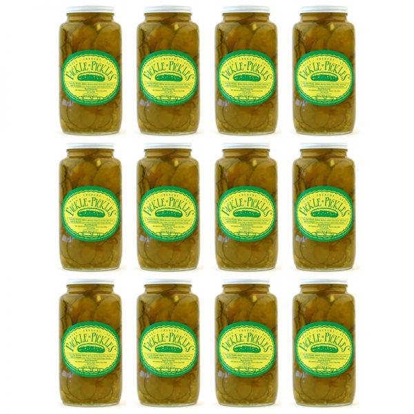 Fickle Pickles case of 32oz jars