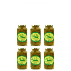 Fickle Pickles half case of 26oz jars