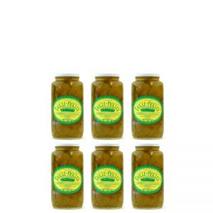 Fickle Pickles half case of 32oz jars