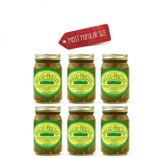 Fickle Pickles half case of 16oz jars